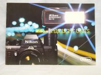 Nikon Speedlite -ORIGINAL MAKERS- Brochure   £2.49